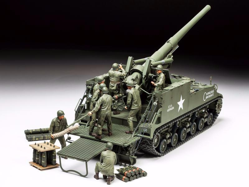 U.S. Self-Propelled 155mm Gun M40 | Tamiya