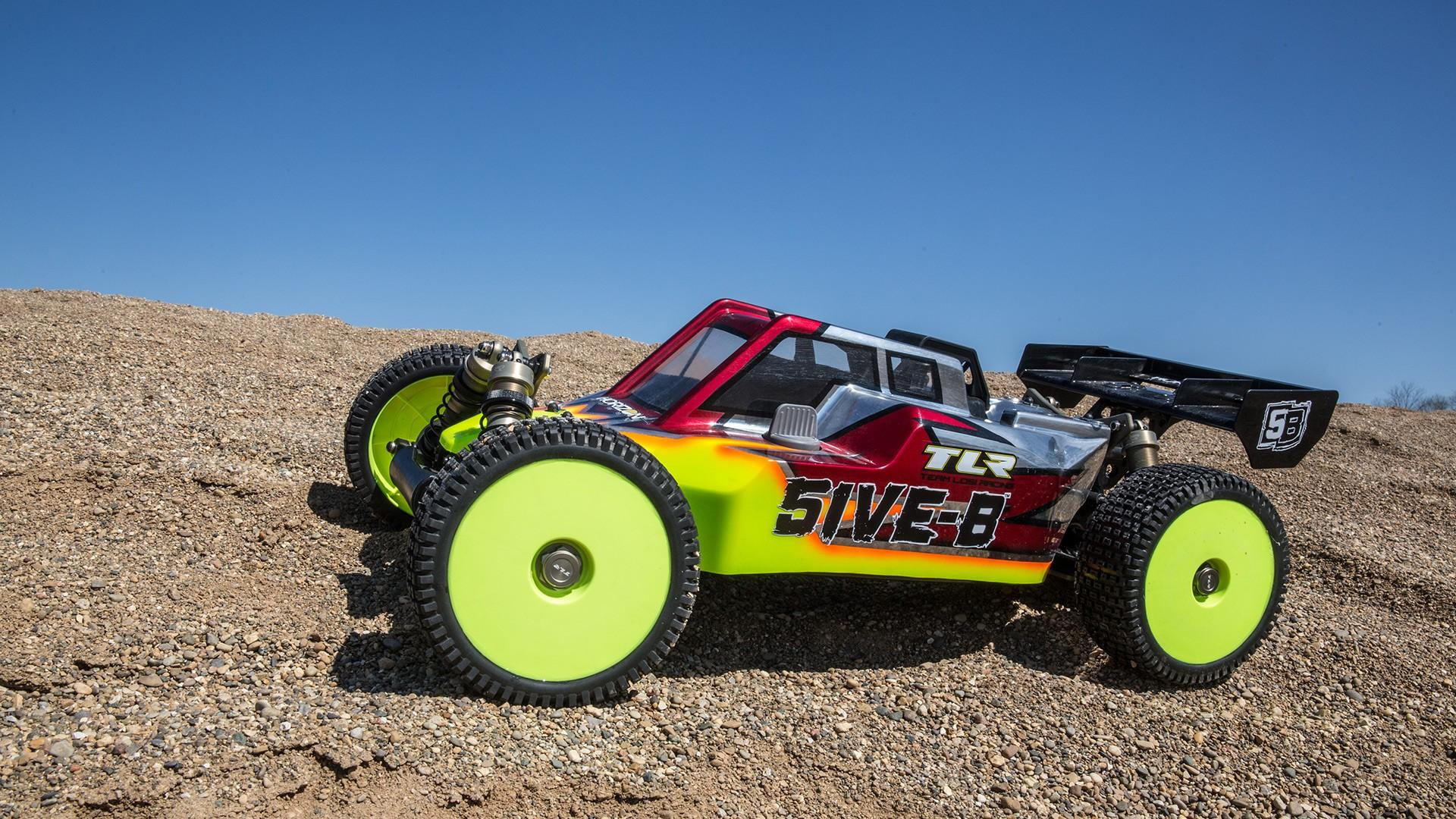 5IVE-B 1:5 4WD Buggy Race Kit | TLR