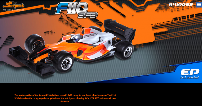 F110 SF3 Promo | Serpent
