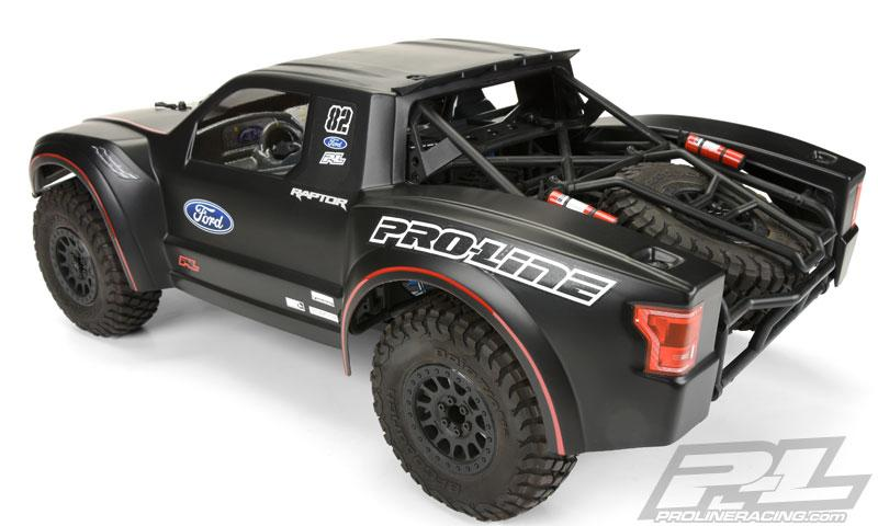 2017 Ford F-150 Raptor Clear body | Pro-Line