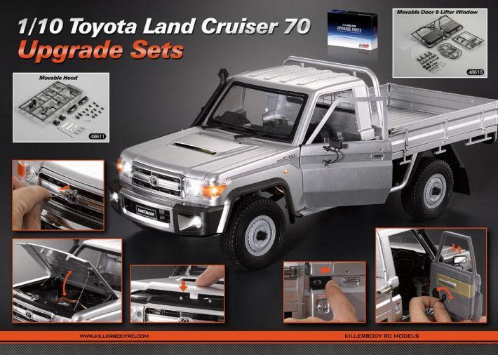 Upgrade Sets Toyota Land Cruiser 70 | Killerbody