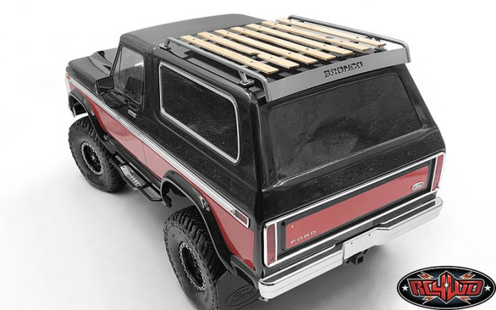 Wooden Roof Rack for Traxxas TRX-4 '79 Bronco Ranger XLT  | RC4WD