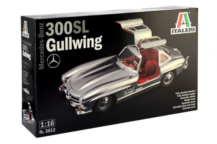 Mercedes-Benz 300 SL Gullwing | Italeri