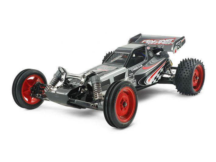 DT-03 Chassis Black Edition w/Racing Fighter Body | Tamiya
