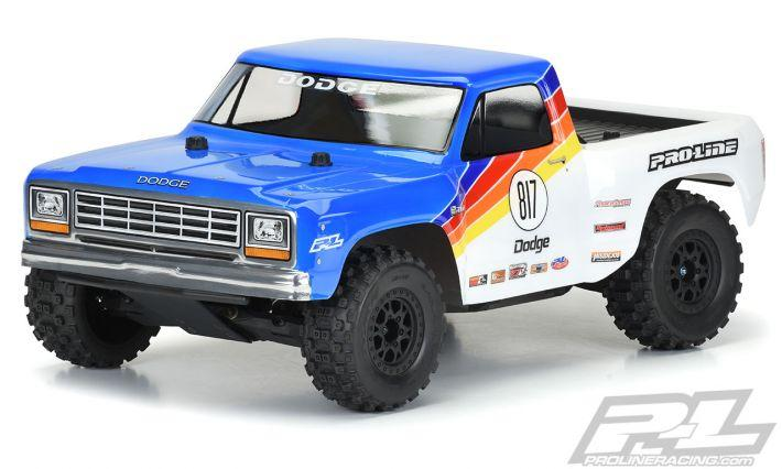1984 Dodge Ram 1500 Race Truck Claer Body | Pro Line